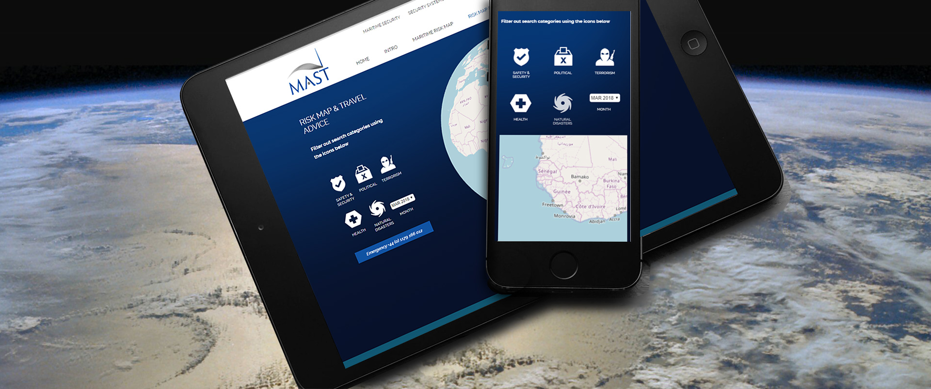 MAST Website Design